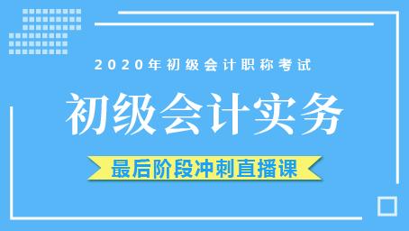 2020年初级实务最后冲刺班第十二讲